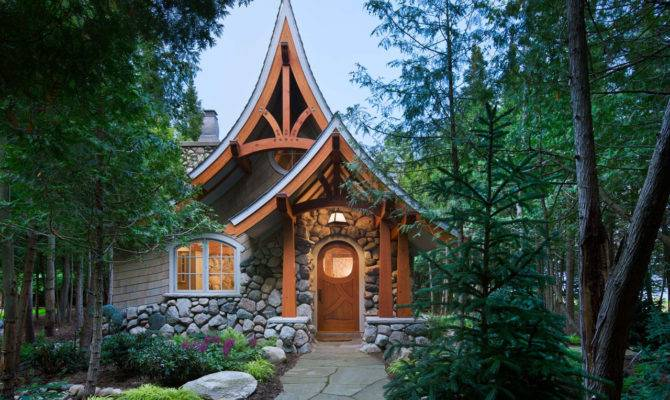 Our Storybook Cabin Looks More Like Cottage Meets Hobbit