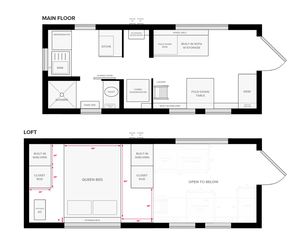 Our Tiny House Floor Plans Construction Pdf Only Project House