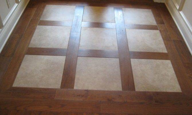 Our Way Look Tile Wood Flooring Can