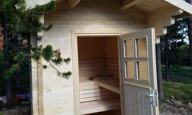 Outdoor Barrel Cabin Saunas Almost Heaven