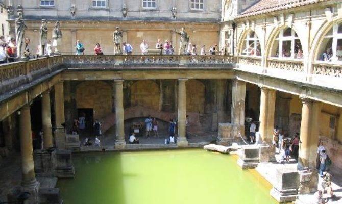 Outdoor Bath House Roman Baths
