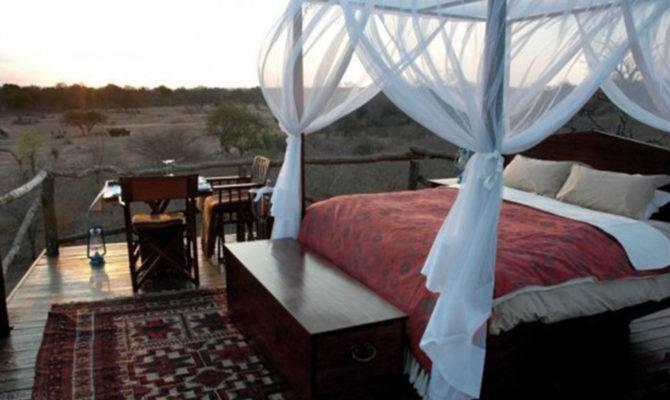 Outdoor Bedroom Home Design Ideas