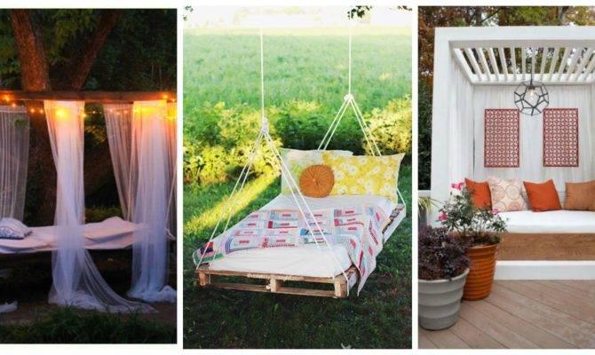 Outdoor Bedrooms Decorating