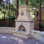 Outdoor Brick Fireplace Designs