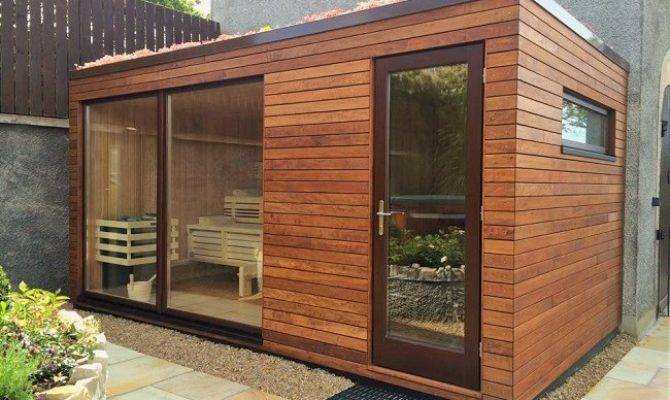 Outdoor Design Sauna Corso Manufactory