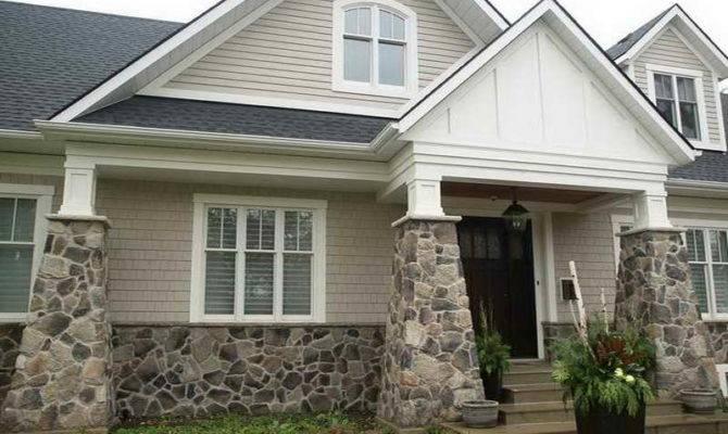 Outdoor Fake Stone Siding Exterior Home Decor Vinyl