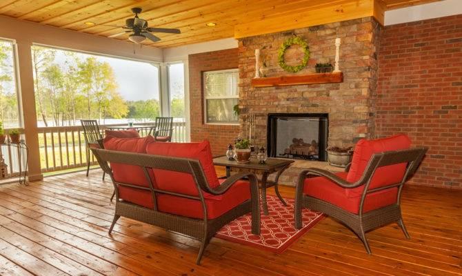 Outdoor Fireplace Ideas Designing Idea
