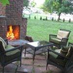 Outdoor Fireplace Plans Add Warmth Ambience