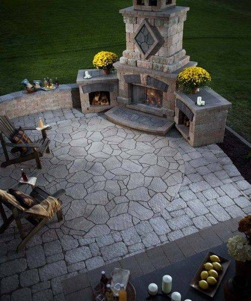 Outdoor Fireplace Plans Building Your Own - House Plans ... on Building Your Own Outdoor Fireplace id=15350