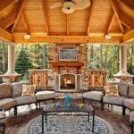 Outdoor Fireplace Plans Hgtv