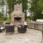 Outdoor Fireplace Plans Home Design Fuller