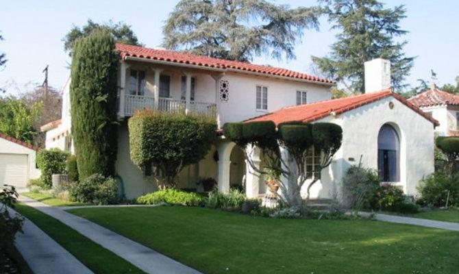 Outdoor Garden Design Spanish House Inspiration