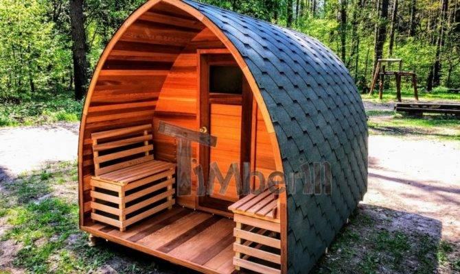 Outdoor Garden Saunas Sale Outside Barrel Wooden