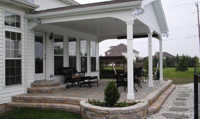 Outdoor Incredible Back Porch Ideas Home Design