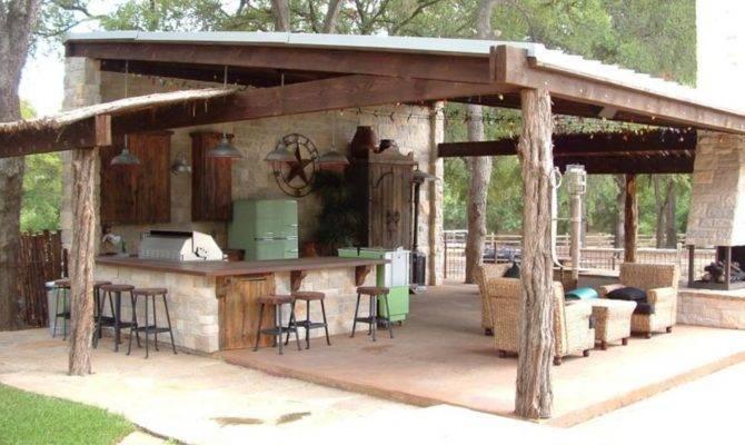 Outdoor Kitchen Bar Designs Decorating Ideas Design