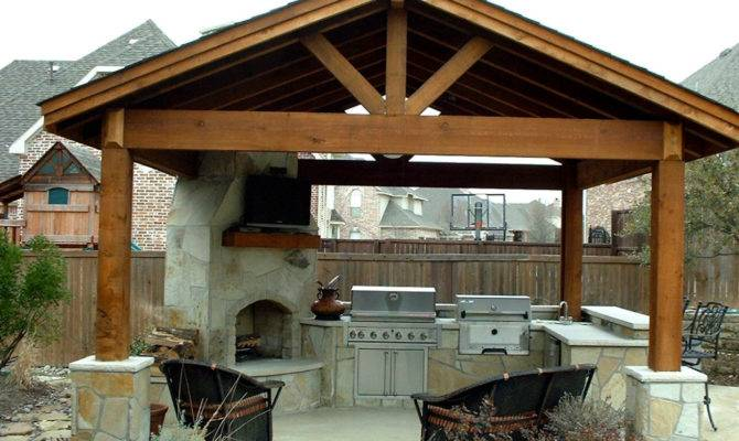 Outdoor Kitchen Plans Home Design Decorating Remodeling Ideas