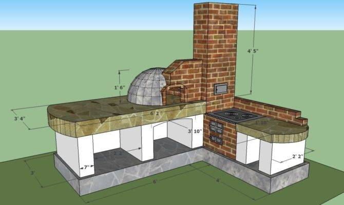 Outdoor Kitchen Plans Howtospecialist Build Step