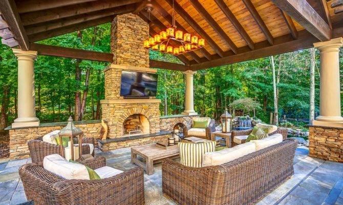 Outdoor Living Room Designs Decorating Ideas Design