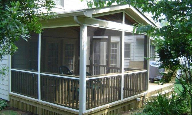 Outdoor Magnificent Back Porch Ideas Home Design