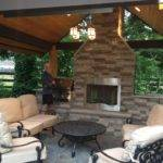 Outdoor Patio Fireplace Designs Flauminc