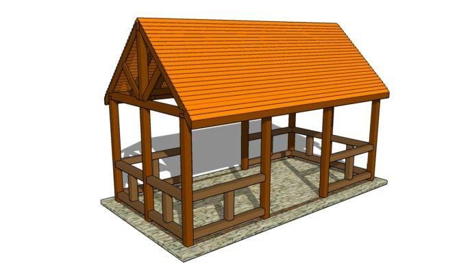 Outdoor Pavilion Plans Diy Shed