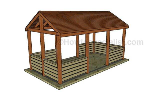 Outdoor Pavilion Plans Howtospecialist Build Step