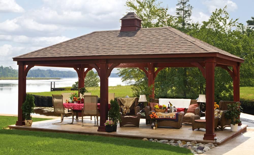 Outdoor Pavilion Plans Quotes - House Plans   #54467