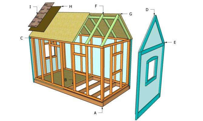 Outdoor Playhouse Plans Diy Shed