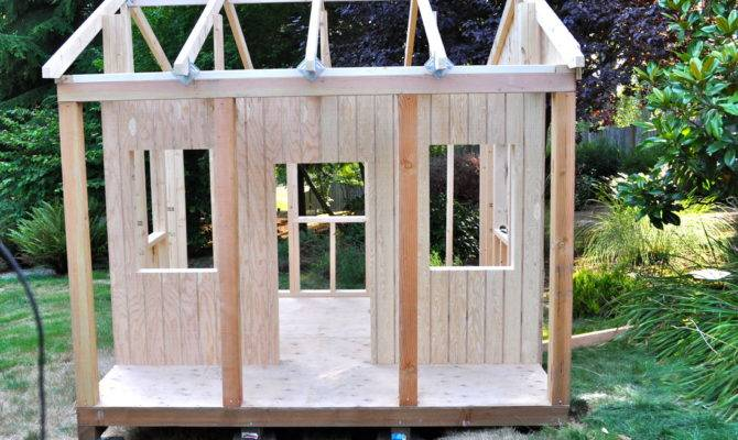 Outdoor Playhouse Plans Home Design Fuller
