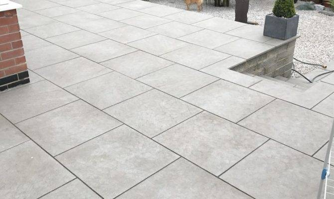 Outdoor Porcelain Paving Slabs Patio Garden Flags