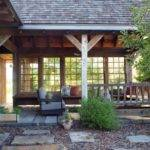 Outdoor Porch Rustic Atlanta Carter Kay