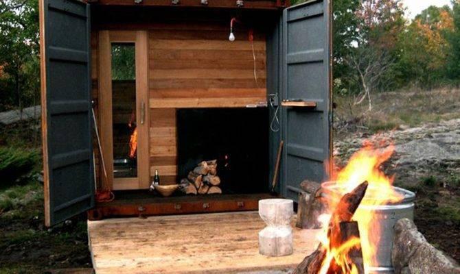 Outdoor Sauna Design Construction Made Shipping