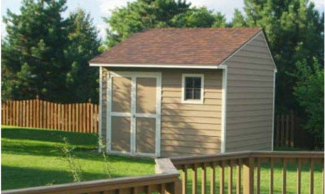 Outdoor Shed Plans Storage Begin Scratch