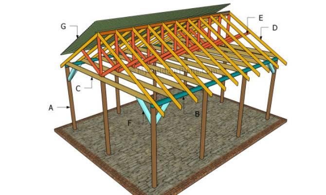 Outdoor Shelter Plans Myoutdoorplans Woodworking