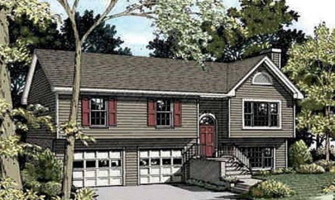 Outdoor Split Foyer House Plans Design Eplans