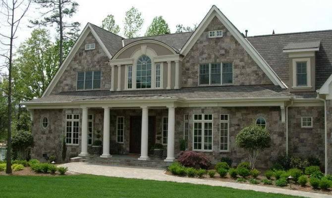 Outdoor Stone Veneer Houses Eldorado Manufactured