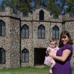 Outside Her Castle Story Book Cottages Which Constructed