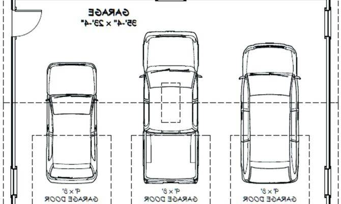 Over Sized Car Garage Plans