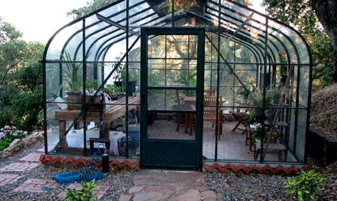 Pacific Glass Greenhouses Backyard Gothic Arch