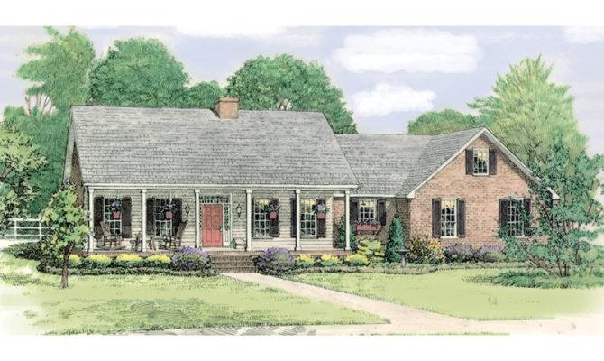 Paducah Country Ranch Home Plan House Plans More