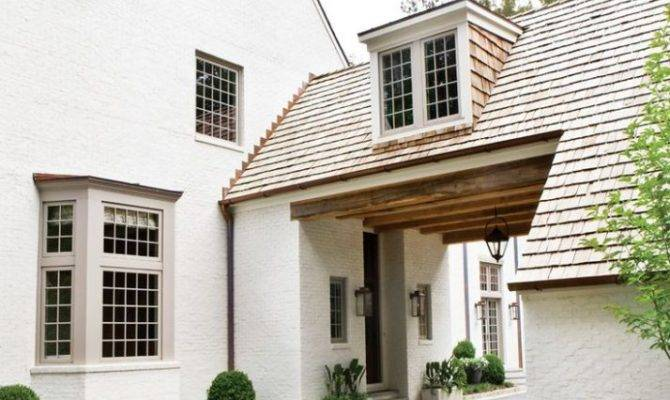 Painted Brick Creating Home