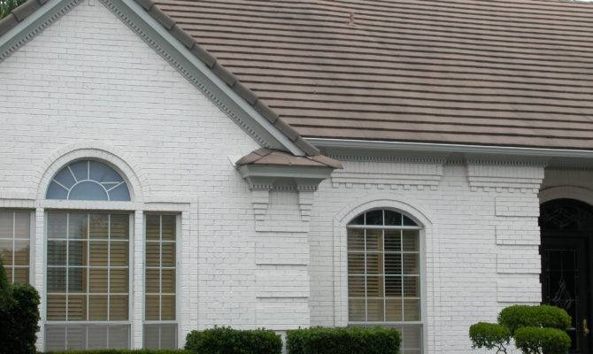 Painted Brick Quoin Corners Corbeled Soldier Courses Dental House Plans 75265