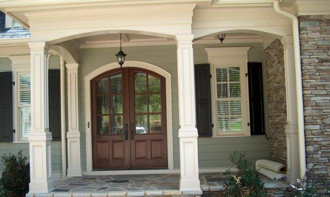 Painting Fiberglass Porch Columns Bistrodre