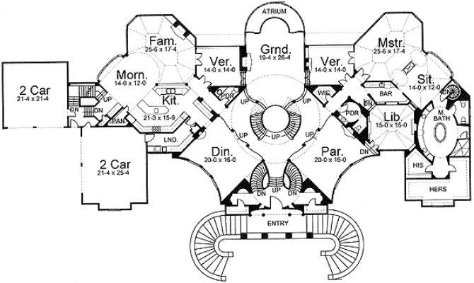 Palace Home Floor Master Suite