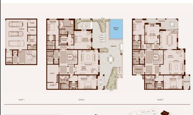 Palm Jumeirah Dubai Floor Plans