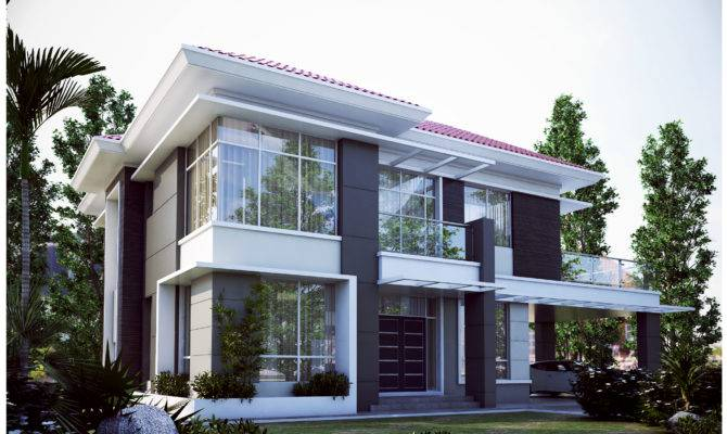 Pan Villa Properties Proposed Palm Double Storey