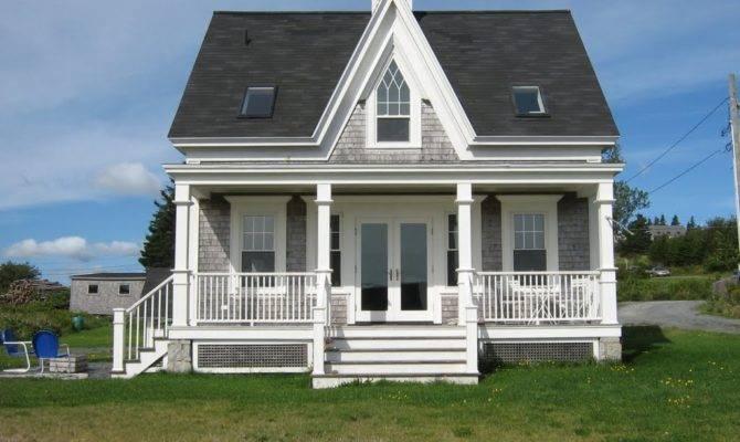 Panoramio Gothic Revival Cottage Kingsburg Nova Scotia