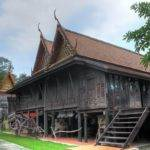 Panoramio Hdr Old Fashioned Houses Central Thailand