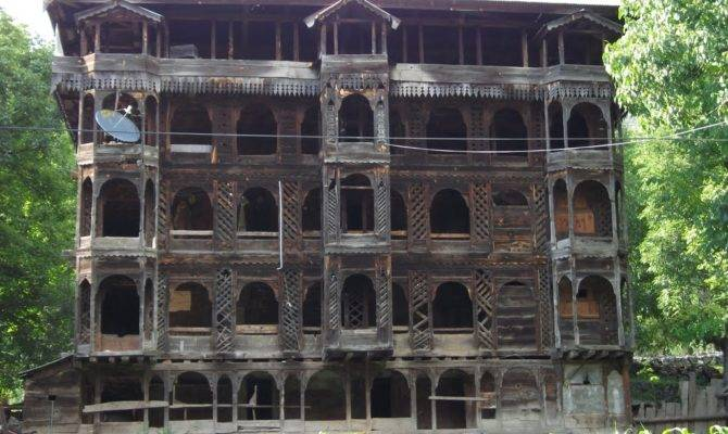 Panoramio Story Wooden House Leepa Kashmir