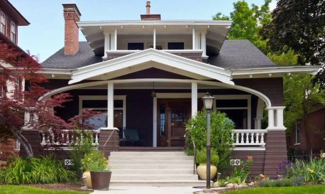 Panoramio White Trim Craftsman Bungalow House